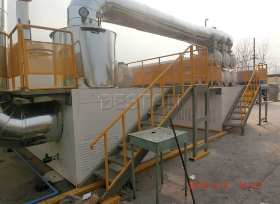 Automatic Waste Rubber Pyrolysis Machine