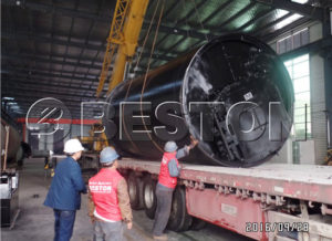 BLJ-10 Pyrolysis Plant Exported to Korea