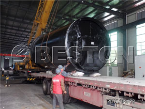 BLJ-10 Pyrolysis Plant Shipped to Korea