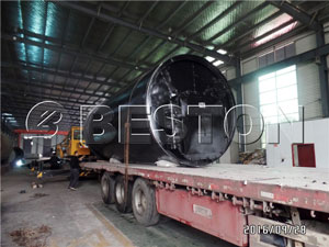 BLJ-10 Pyrolysis Plant to Korea
