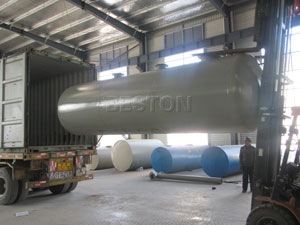 BLJ-6 Pyrolysis Plant Is Ready To Be Shipped To The Netherlands