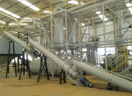 BLL-16 Waste Pyrolysis Plant In Brazil