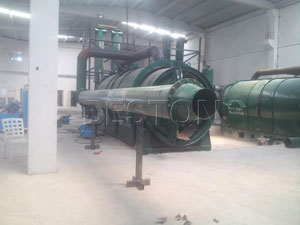 Beston BLJ-6 Pyrolysis Plant Installed in Turkey