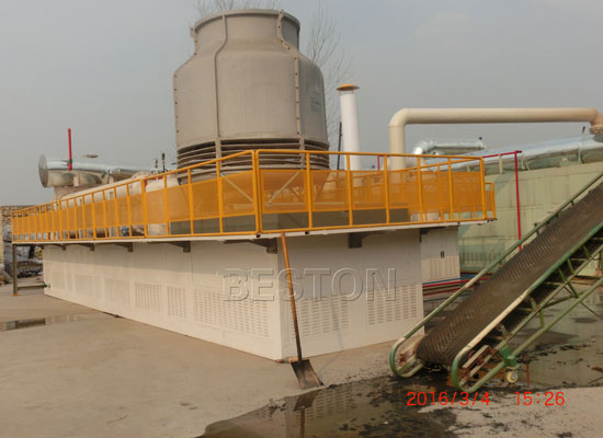 Beston Pyrolysis Equipment