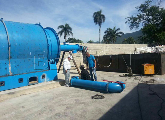 Beston Pyrolysis Plant Exported to Dominica