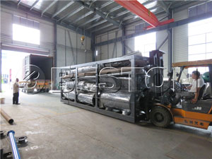 Beston Pyrolysis Plant Exported to Korea