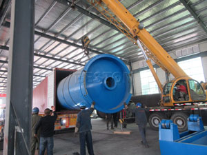 Beston Pyrolysis Plant Shipped to Dominica