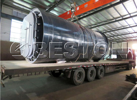 Beston Pyrolysis Plant Was Exported to Korea