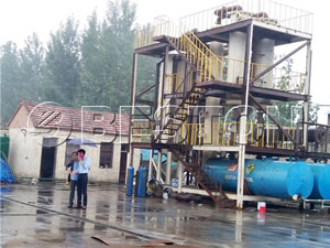 Beston Waste Pyrolysis Plant