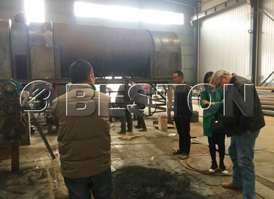 Canadian Customers Came to Visit China Beston for Cooperation