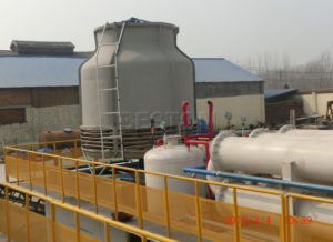 Waste Tyre Pyrolysis Oil Plant/Machine for Sale