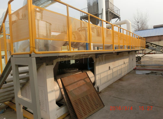 Continuous Waste Plastic Recycling Machine