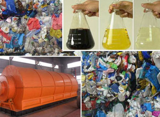 Plastic Bag Recycling Machine