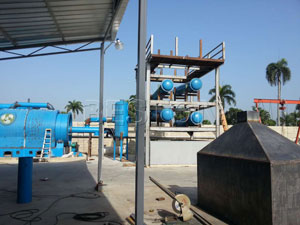 Pyrolysis Plant Exported to Dominica