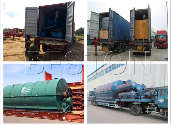 Pyrolysis Tires To Oil Plant