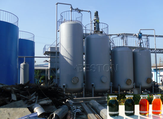 Recycling Waste Cooking Oil into Fuel