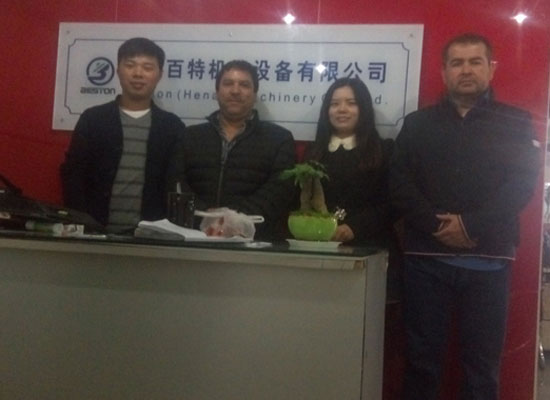 The Customers From Chile Came To Visit Our Company