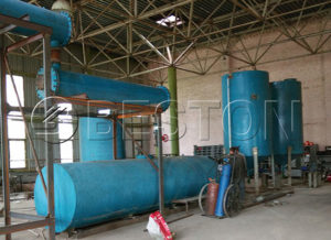 Tyre/Plastic Pyrolysis Oil Distillation Plant for Sale