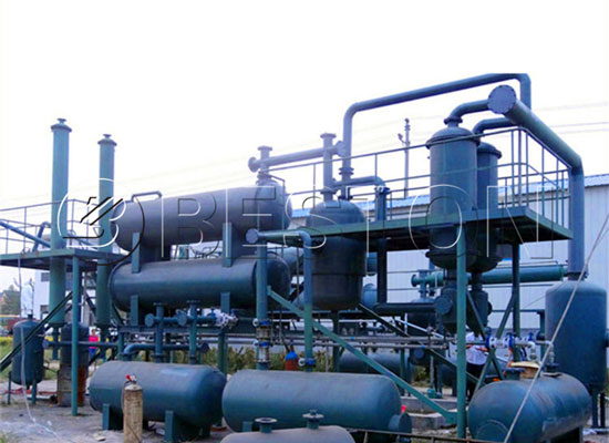 process of crude oil distillation