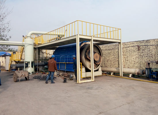 tire recycling plant price