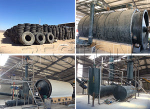 tyre recycling plant in Jordan