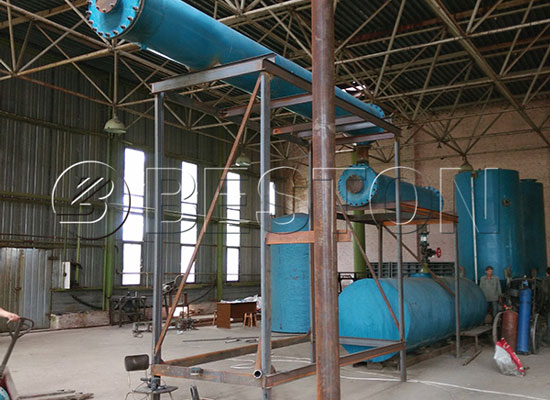 Waste Plastic To Diesel Plant for Sale/Plastic to Diesel