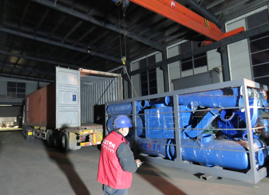 BLJ-6 Pyrolysis Plants are Exported to Hungary