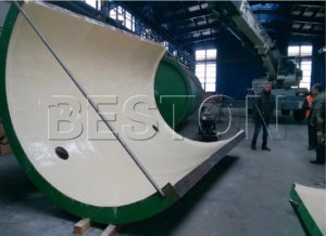 Beston Plastic Pyrolysis Plant was Installed in Romania