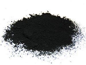 Carbon black from medical waste