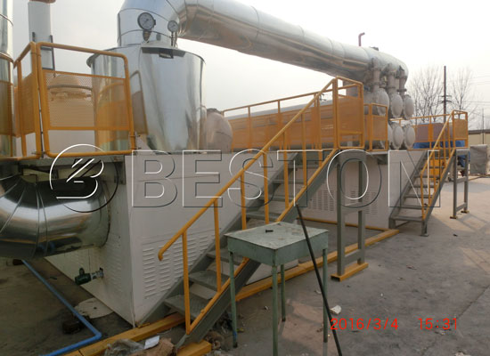 Fully continuous medical waste treatment equipment