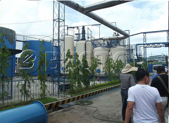 Used engine oil recycling plant for sale