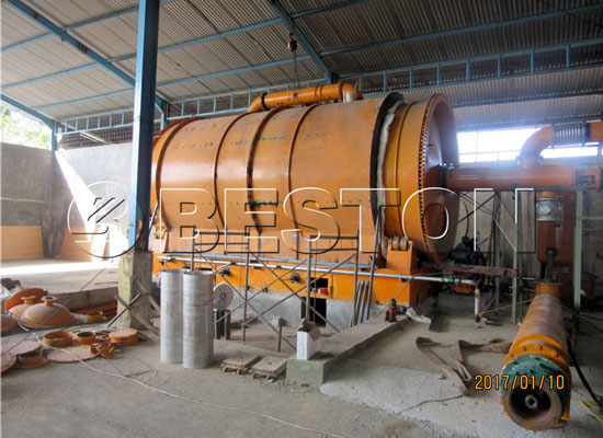 Beston Waste Pyrolysis Plant Program