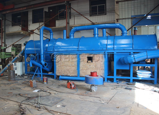 Coconnut Shell Charcoal Making Machine