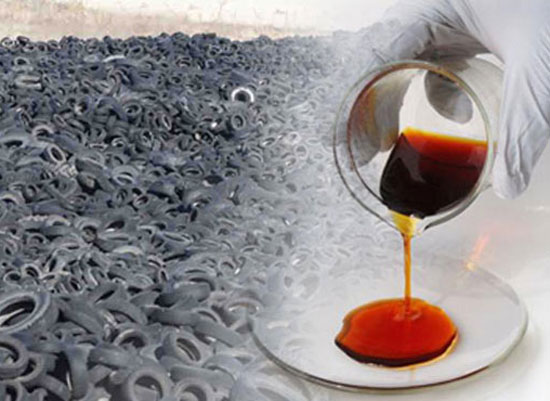Tyre/Rubber Pyrolysis Oil