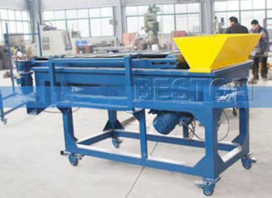 Rubber Vibrating Magnetic Separator