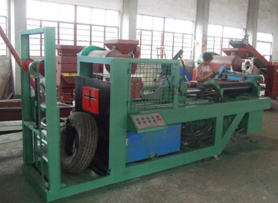 Single wire drawing machine