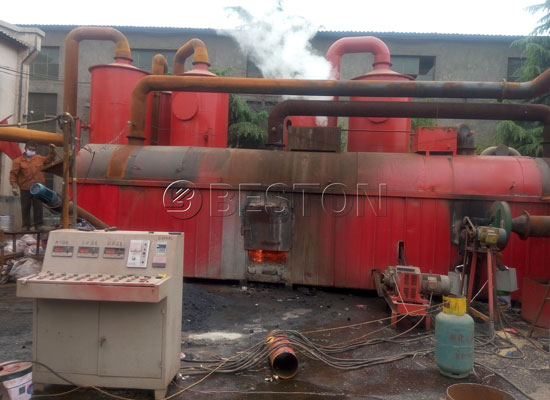 coconut charcoal making machine