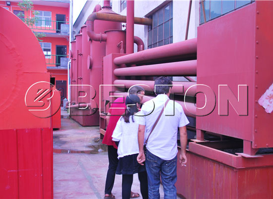 coconut shell charcoal machinery