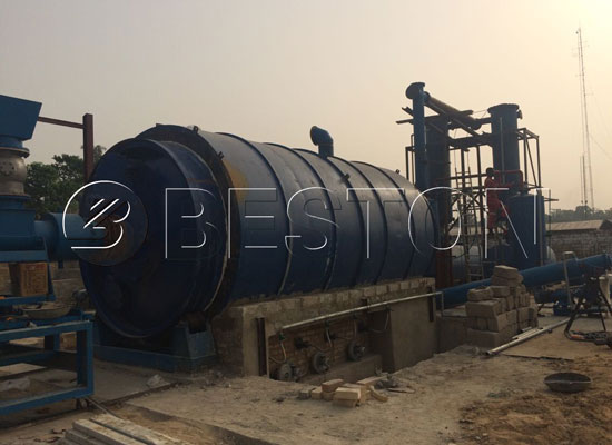 Beston Plastic Pyrolysis Machine