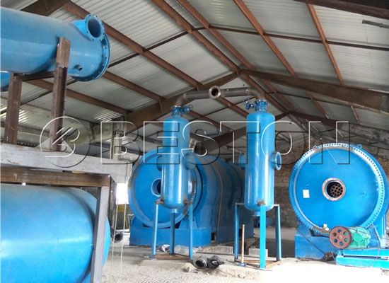 Plastic to Oil Pyrolysis Plants in Hungary
