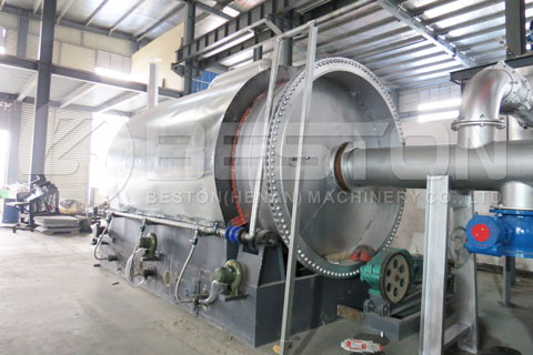 Tyre Pyrolysis Plant for Sale - Beston