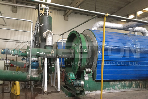 Waste Tyre Pyrolysis Plant Project in Turkey