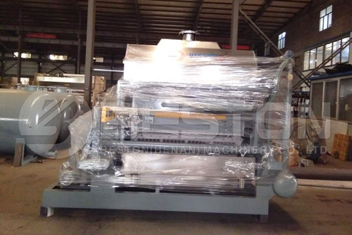 Paper Egg Tray Making Machine Shipped to Indonesia
