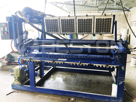 BTF1-4 Egg Tray Making Machine In the Philippines